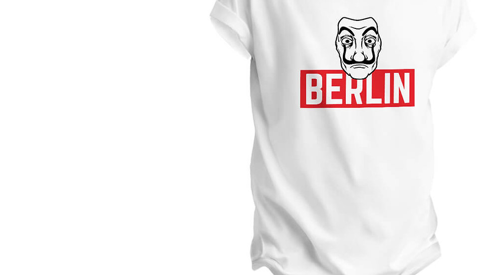 Money Heist Character Berlin Printed T-shirts in Mulund.