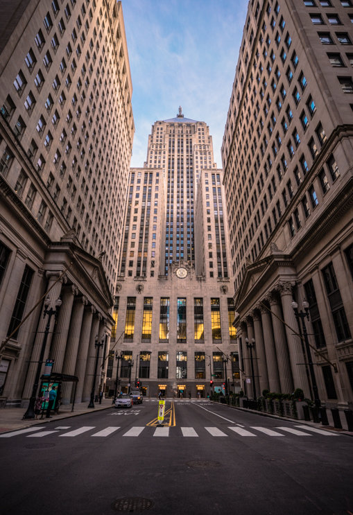 Chicago Board of Trade Building Front