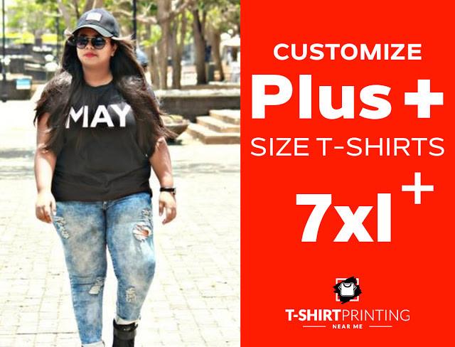 Customize Plus Size T-shirts in Mumbai Mulund.