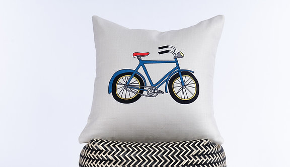 Banano Bike Pillow Cover