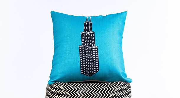 Banano Sears Tower Pillow Cover