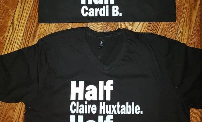 Half Cardi B. Tee
