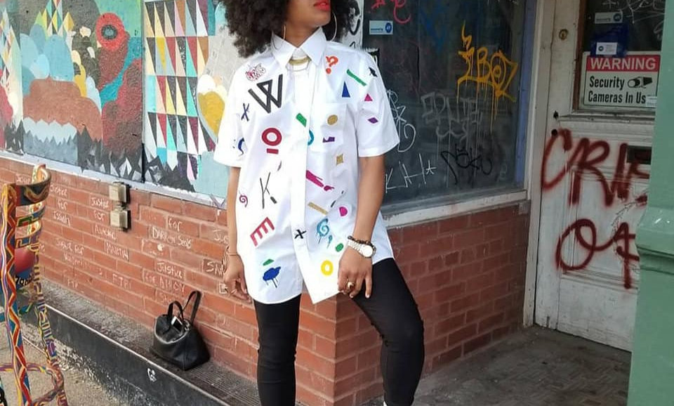 Kustom Graffiti Button Up
