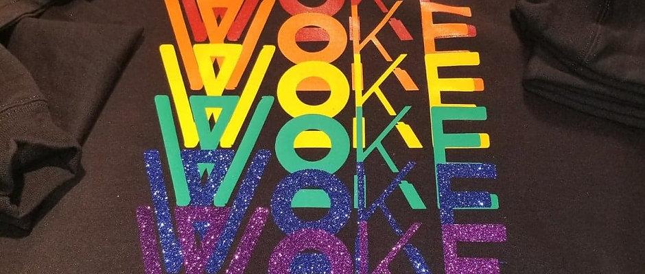Rainbow WoKE Brand Hoodie