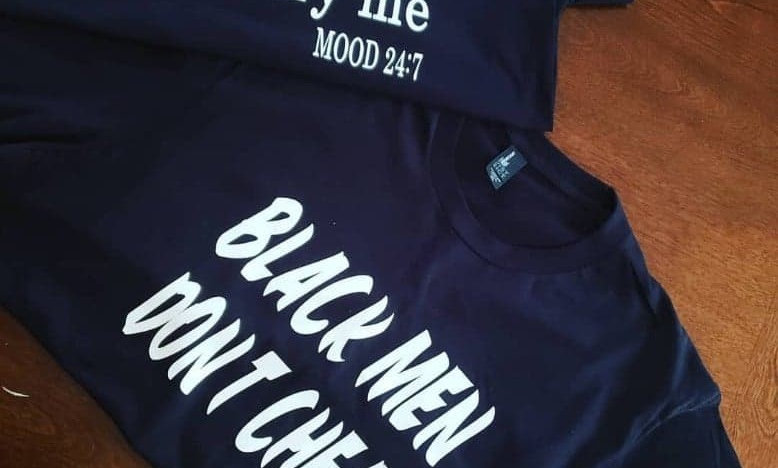 Black Men Tee & Thou Shall Tee