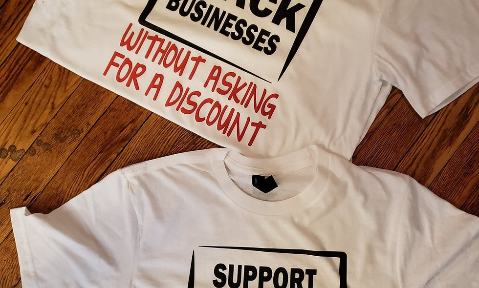 Support Black Business Tee