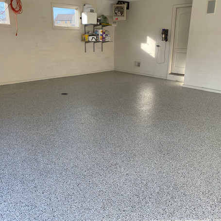 Residential Garage Epoxy