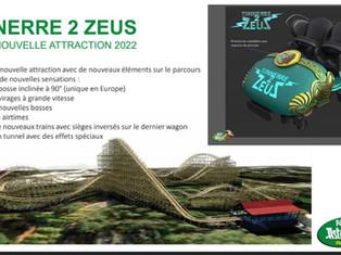 Parc Astérix 2022 : Tonnerre 2 Zeus