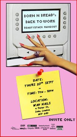 BEAUTYSTACK invites