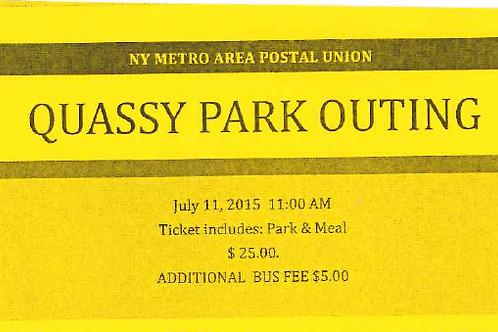 Quassy Amusement Park/Picnic Ticket
