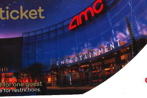 AMC Gold Movie Ticket