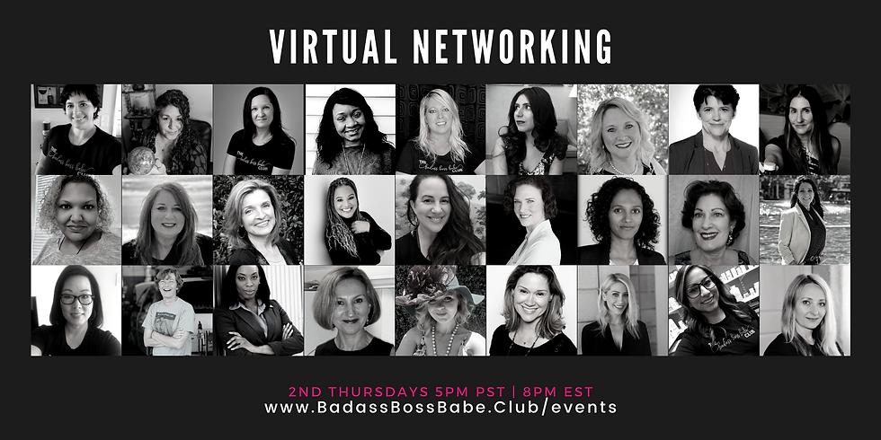 February Virtual Networking