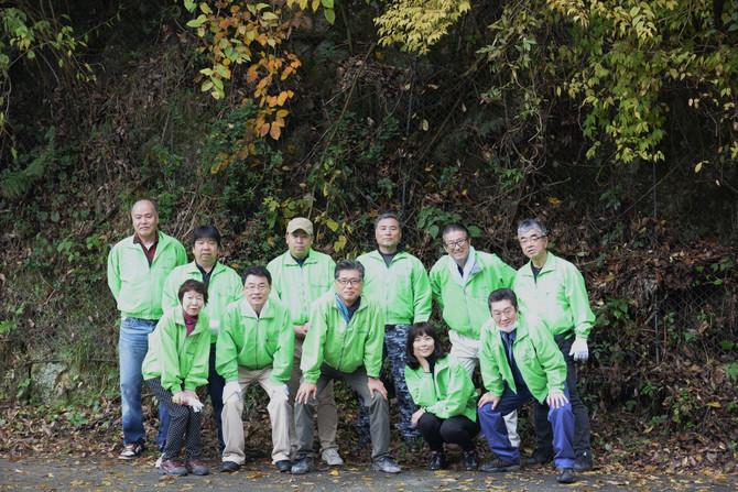 石手川ダム上流域の河川等清掃に参加しました