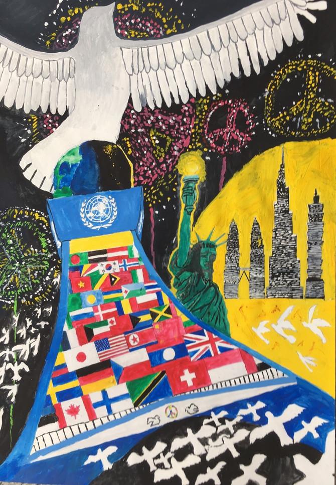 国際平和ポスターに応募頂きありがとうございました
