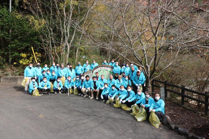 湧ヶ淵公園清掃(11月第2例会)開催!