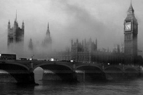 London Fog Soy Candle