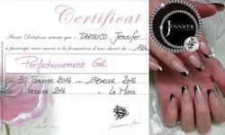 Certificat Perfectionnement Gel