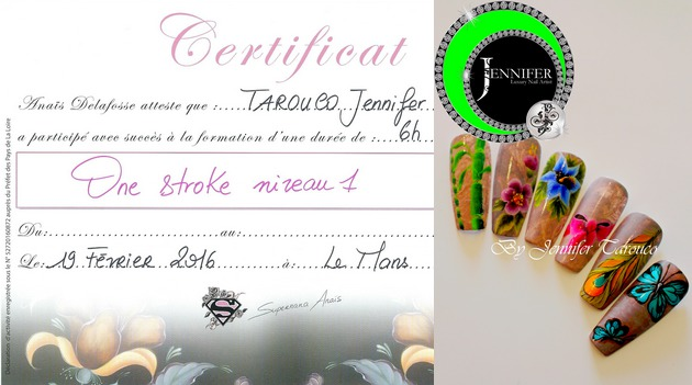 Certificat One stroke niveau 1