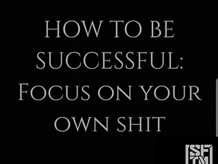 Focus on your own game!