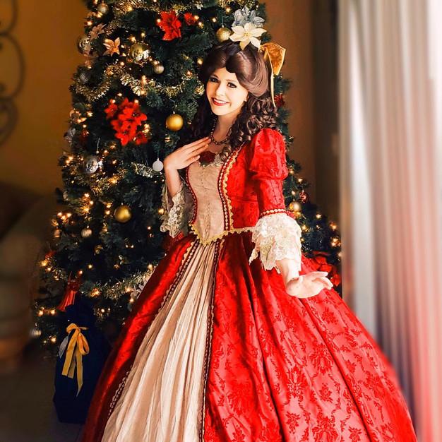 Beauty Princess (Christmas Ballgown)
