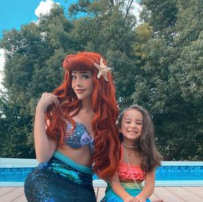 Mermaid Princess (Walkable Tail)
