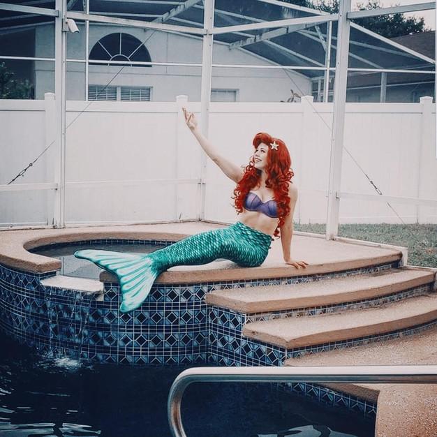 Mermaid Tail Princess