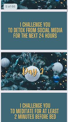 31 Digital Self-Care Challenge Cards