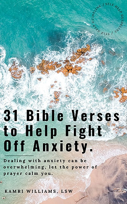 31 Bible Verses to Help Fight Off Anxiety-Ebook
