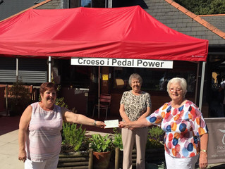 Whitchurch Senior Ladies Society Score Hole in One (as far as we're concerned!)