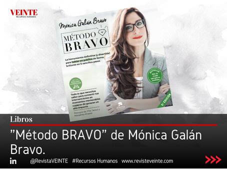 """""""Método BRAVO"""" de Mónica Galán Bravo."""