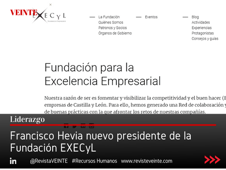 Francisco Hevia nuevo presidente de la Fundación EXECyL