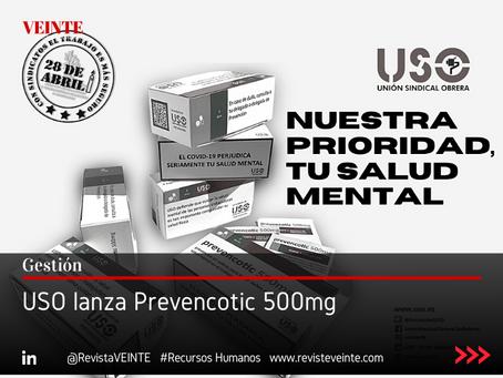 USO lanza Prevencotic 500mg