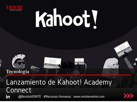 Lanzamiento de Kahoot! Academy Connect