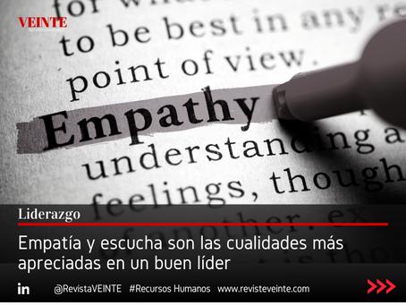 Empatía y escucha son las cualidades más apreciadas en un buen líder
