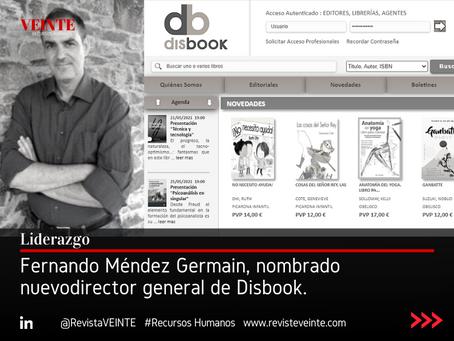 Fernando Méndez Germain, nombrado nuevo director general de Disbook.