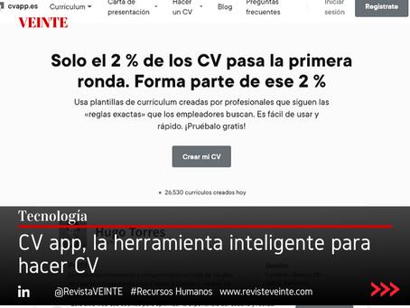 CV app, la herramienta inteligente para hacer CV