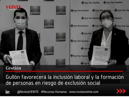 Gullón favorecerá la inclusión laboral y la formación de personas en riesgo de exclusión social