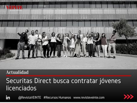 Securitas Direct busca contratar jóvenes licenciados