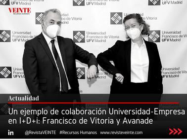Un ejemplo de colaboración Universidad-Empresa en I+D+i: Francisco de Vitoria y Avanade