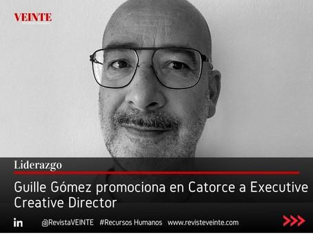 Guille Gómez promociona en Catorce a Executive Creative Director