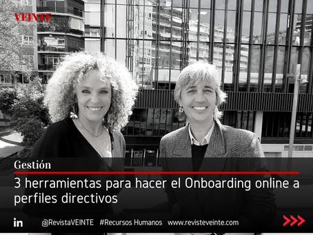 3 herramientas para hacer el Onboarding online a perfiles directivos