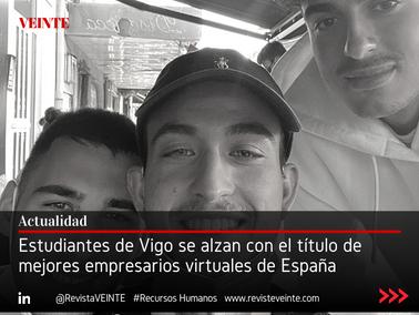 Estudiantes de Vigo se alzan con el título de mejores empresarios virtuales de España