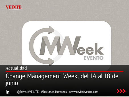 Change Management Week, del 14 al 18 de junio