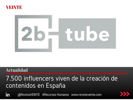 7.500 influencers viven de la creación de contenidos en España
