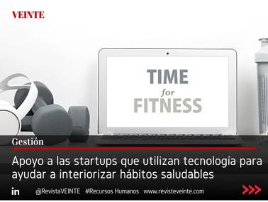 Apoyo a las startups que utilizan tecnología para ayudar a interiorizar hábitos saludables