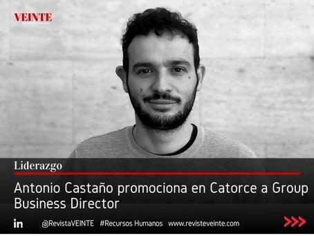 Antonio Castaño promociona en Catorce a Group Business Director