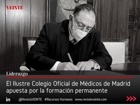 El Ilustre Colegio Oficial de Médicos de Madrid apuesta por la formación permanente
