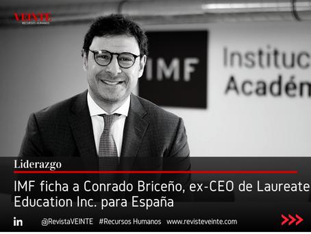 IMF ficha a Conrado Briceño, ex-CEO de Laureate Education Inc. para España
