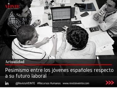 Pesimismo entre los jóvenes españoles respecto a su futuro laboral