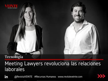 Meeting Lawyers revoluciona las relaciones laborales